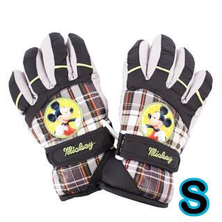 ディズニー(Disney)の再入荷! ミッキー  手袋 S キッズ 子供 男の子 防水 スキー 雪遊び 園児(手袋)