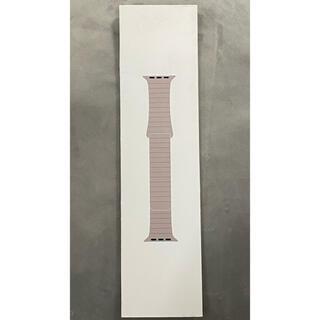 アップルウォッチ(Apple Watch)のApple Watch 純正バンド レザーループ 44mm Lサイズ(レザーベルト)