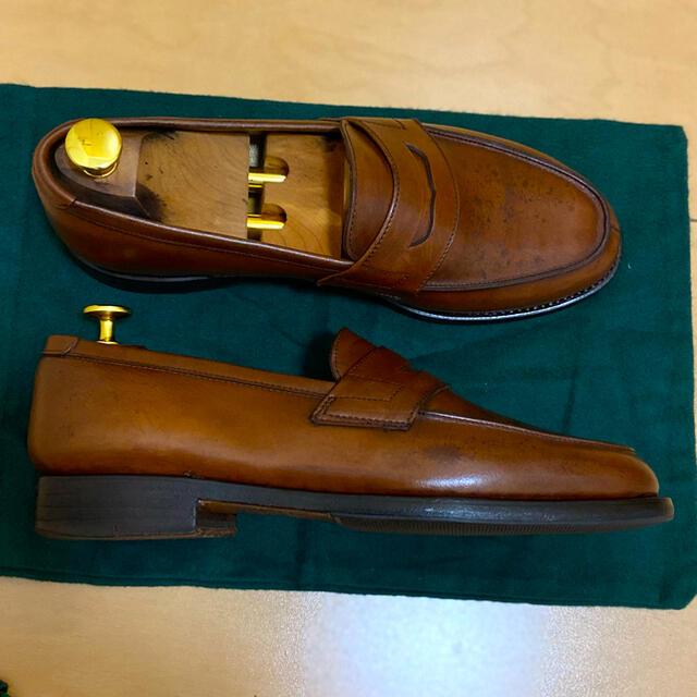 Paraboot(パラブーツ)のparaboot パラブーツ アドニス コインローファー ブラウン 7E メンズの靴/シューズ(ドレス/ビジネス)の商品写真