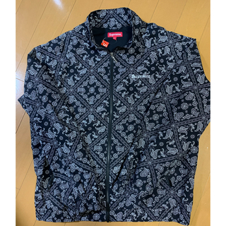 Supreme - Supreme Bandana Track Jacket ペイズリー バンダナ