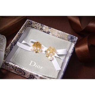 Christian Dior - ディオール Dior ピアスCD ピアス 刻印 レディース