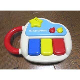 ミキハウス(mikihouse)のミキハウス ベビーピアノ 小さな音楽家(楽器のおもちゃ)