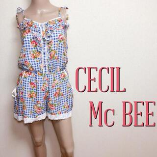 CECIL McBEE - 新品タグ付き♪セシルマクビー スウィートオールインワン♡リエンダ ダズリン