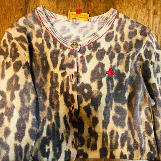 Vivienne Westwood - 写真より薄めな上品なヒョウ柄カーディガン♡