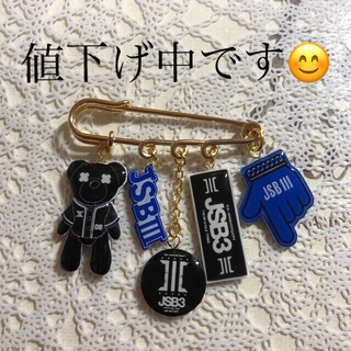 サンダイメジェイソウルブラザーズ(三代目 J Soul Brothers)の三代目J Soul Brothers★カブトピン(その他)