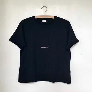 Saint Laurent - 【新品未使用】SAINT LAURENT サンローラン Tシャツ ロゴ S