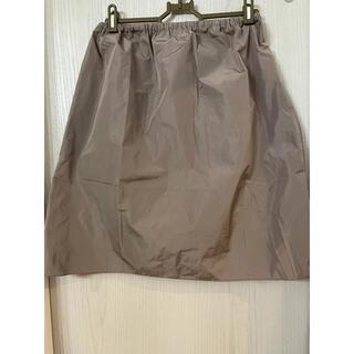 カルヴェン(CARVEN)の美品 カルヴェン スカート ブラウン Sサイズ(ひざ丈スカート)
