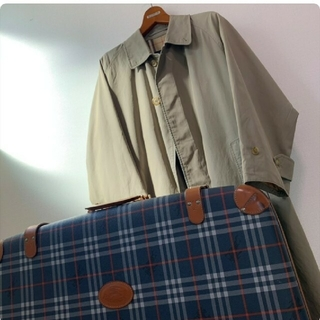 BURBERRY - BURBERRY コート 一枚袖 コットン100%