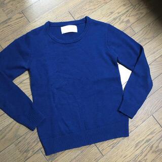 エイケイエム(AKM)の美品 AKM ニット ブルー (ニット/セーター)