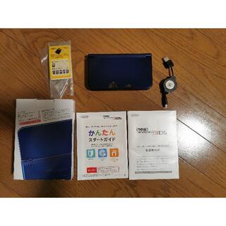 ニンテンドウ(任天堂)の値下げ 任天堂 new 3ds LL ブルー 本体(携帯用ゲーム機本体)