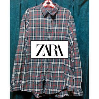 ザラ(ZARA)のZARA メンズ チェックシャツ(シャツ)