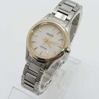 セイコー(SEIKO)のSEIKO セイコー レディース  腕時計 エクセリーヌ ソーラー クォーツ(腕時計)