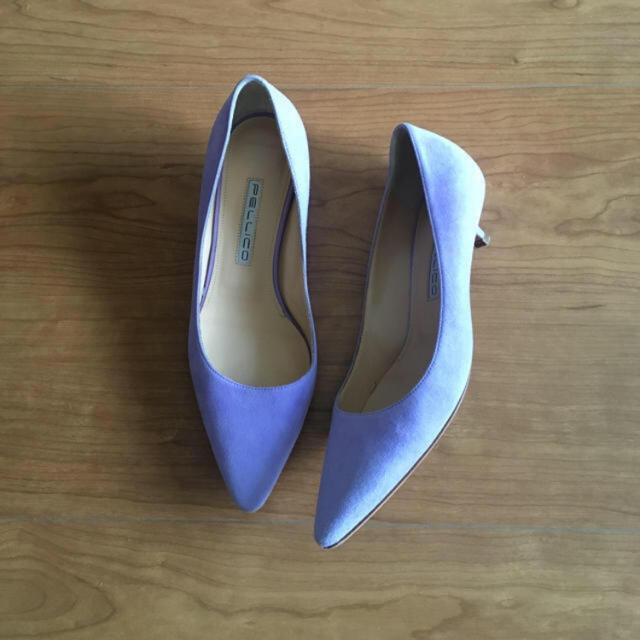 PELLICO(ペリーコ)のPELLICO ペリーコ パンプス 36 ローヒール 美品 レディースの靴/シューズ(ハイヒール/パンプス)の商品写真