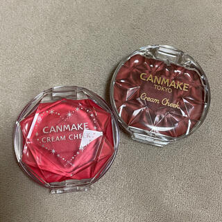 CANMAKE - キャンメイク クリームチーク セット