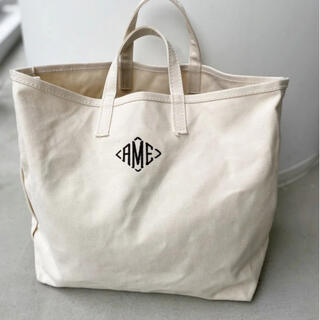 L'Appartement DEUXIEME CLASSE - AMERICANA/アメリカーナ AME Tote Bag ネイビー