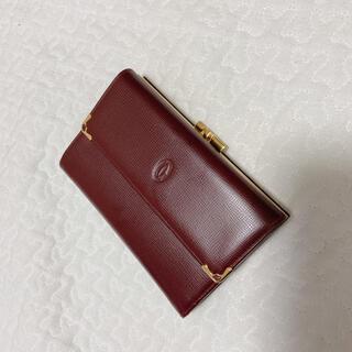 Cartier - Cartier カルティエ 三つ折り財布