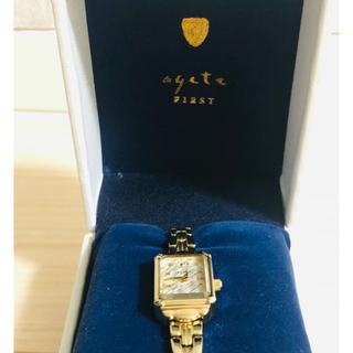 agete - agate 時計 販売証明書あり