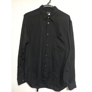 コムデギャルソンオムプリュス(COMME des GARCONS HOMME PLUS)のCOMME des GARCONS HOMME PLUS ブラックシャツ(シャツ)