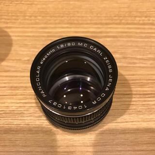 キョウセラ(京セラ)のcarl zeiss jena 80mm f1.8 mdマウント(レンズ(単焦点))
