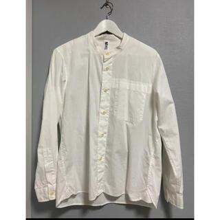 MARGARET HOWELL - MHL.  バンドカラーシャツ ホワイト