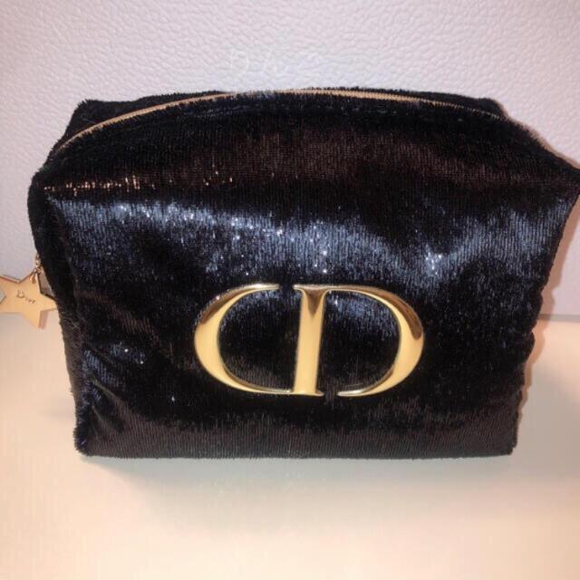 Christian Dior(クリスチャンディオール)のDior ベルベット ポーチ 限定品 非売品 レディースのファッション小物(ポーチ)の商品写真