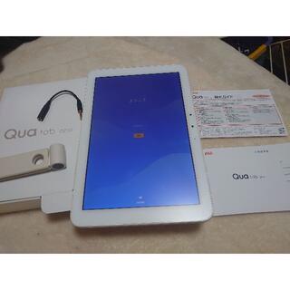 キョウセラ(京セラ)のSIMフリーQua tab QZ10 タブレット  KYT33フルセット(タブレット)