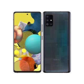 Galaxy - 新品未開封 au Galaxy A51 5G SCG07 ブラック simフリー
