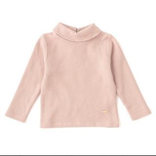 petit main - 新品!petit main オーガニックコットン 裏起毛 タートルネックTシャツ