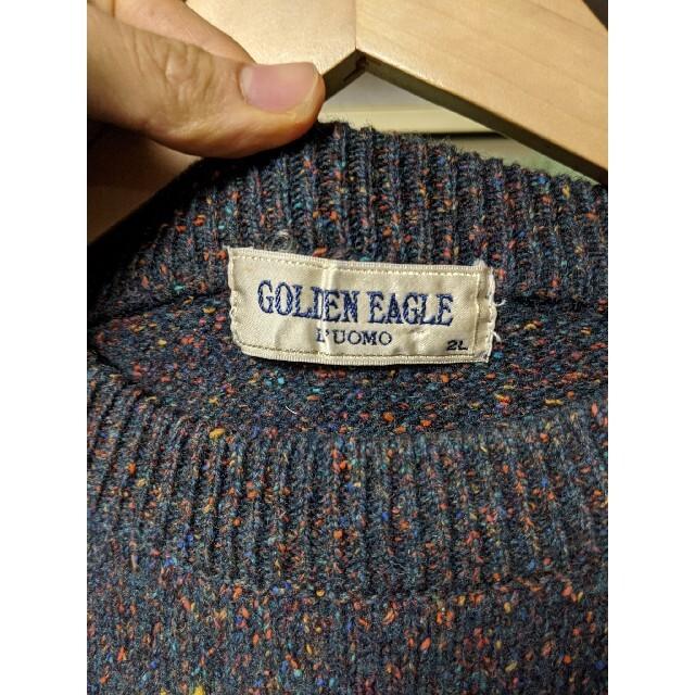 COMOLI(コモリ)の【レア❗❗】古着 vintage ウールシルク ネップ ニット メンズのトップス(ニット/セーター)の商品写真