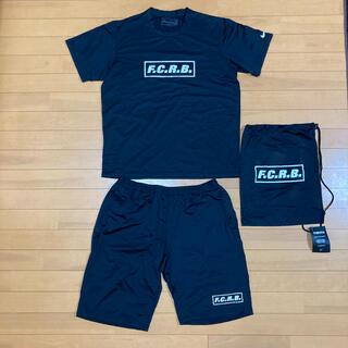 エフシーアールビー(F.C.R.B.)のFCRB  上下セットアップ Lサイズ 収納袋付き(Tシャツ/カットソー(半袖/袖なし))