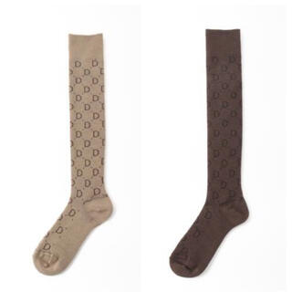 DEUXIEME CLASSE - Deuxieme Classe  jacquard socks  2点セット