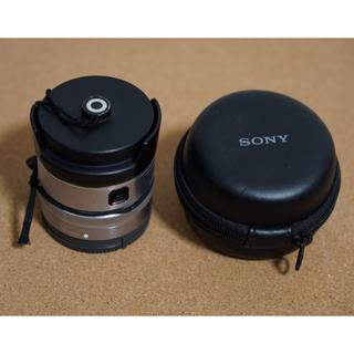 SONY - ソニー SEL16F28+VCL-ECF1 フィッシュアイコンバーターset