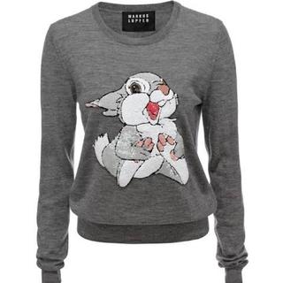 Disney - Markus Lupfer x Disney バンビ とんすけ 薄手セーター