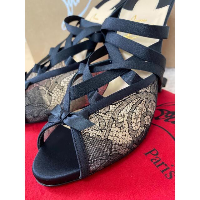 Christian Louboutin(クリスチャンルブタン)の超美品 ルブタン ハイヒール レディースの靴/シューズ(ハイヒール/パンプス)の商品写真