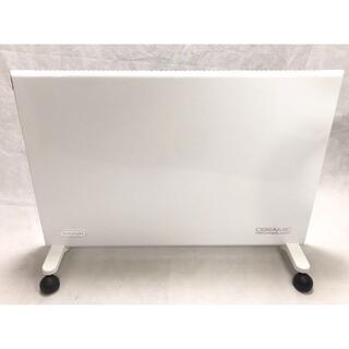 デロンギ(DeLonghi)の美品 デロンギ コンベクターヒーター ホワイト [ HXJ60L12-WH ](電気ヒーター)