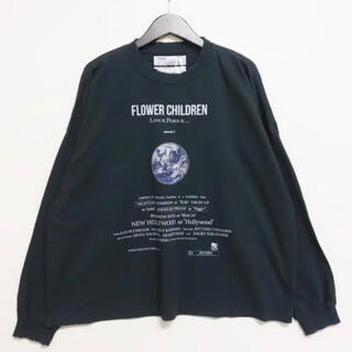 "21ss DAIRIKU ""Earth"" Thrift L-S Tee"