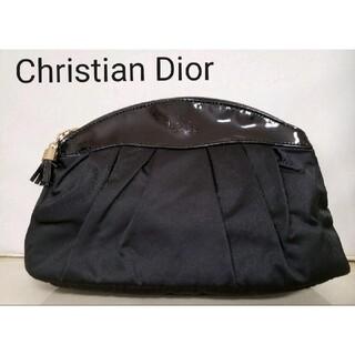 Christian Dior - クリスチャン・ディオール ポーチ 黒 Dior