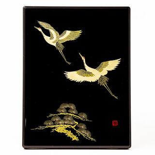 新品 漆芸 鶴の舞 漆電報(漆芸)