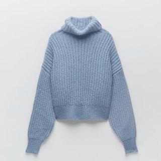 ZARA - zara ザラ ハイネックニットセーター