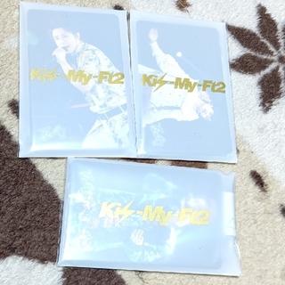 キスマイフットツー(Kis-My-Ft2)のキスマイ ライブフォトカード(アイドルグッズ)