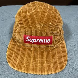 Supreme - supreme corduroy キャンプキャップ