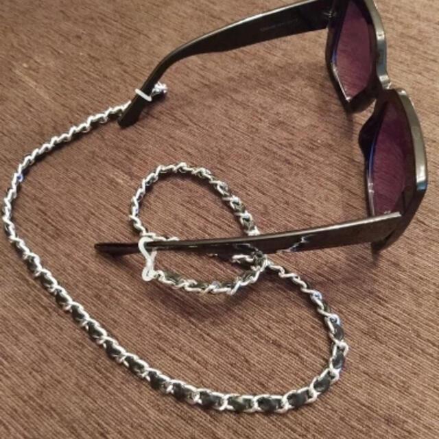 CHANEL(シャネル)のCHANEL風   サングラスチェーン マスクストラップ レディースのファッション小物(サングラス/メガネ)の商品写真