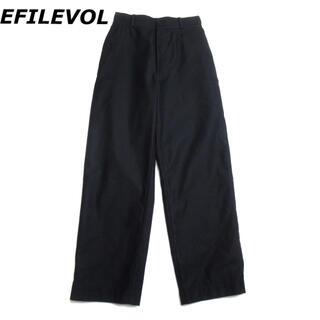 エフィレボル(.efiLevol)の【SALE】 EFILEVOL イージー ワイドパンツ スラックス エフィレボル(スラックス)