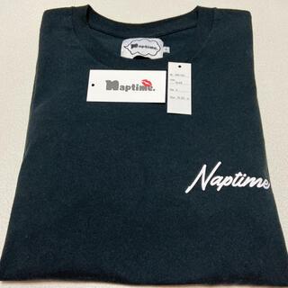 トリプルエー(AAA)のNaptime ロングTシャツ ブラック(Tシャツ/カットソー(七分/長袖))