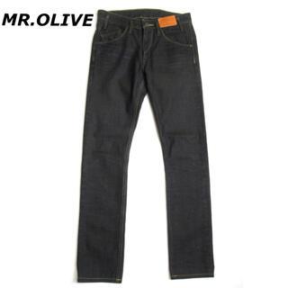 ミスターオリーブ(Mr.OLIVE)の【SALE】MR.OLIVE スキニー ブラックデニム パンツ ミスターオリーブ(デニム/ジーンズ)