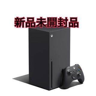 エックスボックス(Xbox)の【新品未開封品】Xbox series X (家庭用ゲーム機本体)