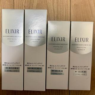 ELIXIR - エリクシール ホワイト クリアローション T III 化粧水 乳液とてもしっとり