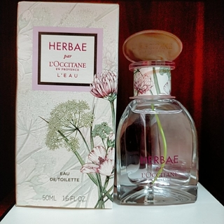 ロクシタン(L'OCCITANE)の限定品 ロクシタン エルバブランシュ オードトワレ 50ml 香水 HBB(香水(女性用))