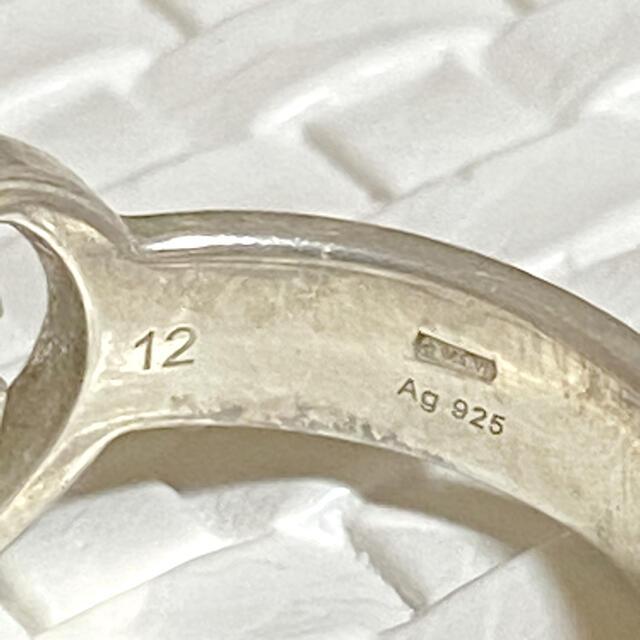 Gucci(グッチ)のnagi様専用!【12号】GUCCI シルバーブリットリング レディースのアクセサリー(リング(指輪))の商品写真