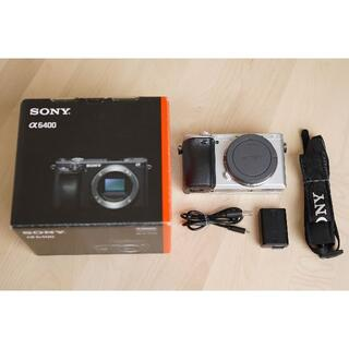 SONY - Sony a6400 シルバー ソニー 一眼レフ